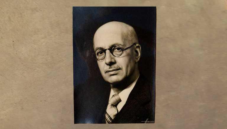 Portrait photographique Harcourt, vers 1930, collection familiale.