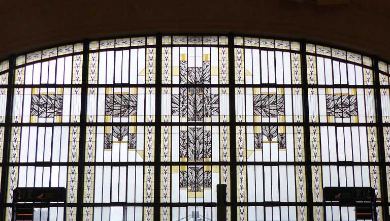 Verrières de la Gare des Bénédictins, Limoges, Photographie Salon de la Mappemonde.