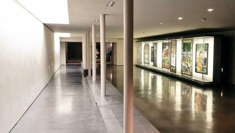 Galerie des vitraux Chigot au BAL (Musée des Beaux-Arts de Limoges), Photographie Mariette Escalier.