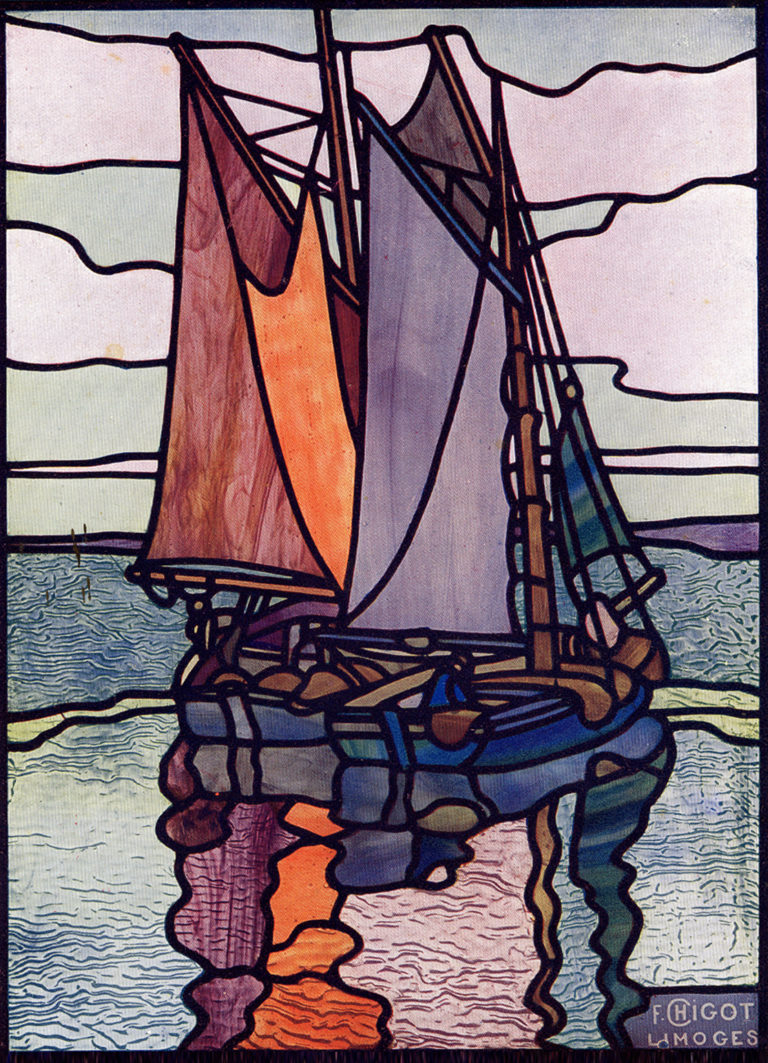 Catalogue Francis Chigot, Bateau pêcheur